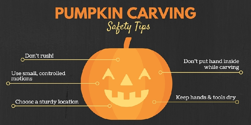 Helpful hints on how to prevent pumpkin injuries